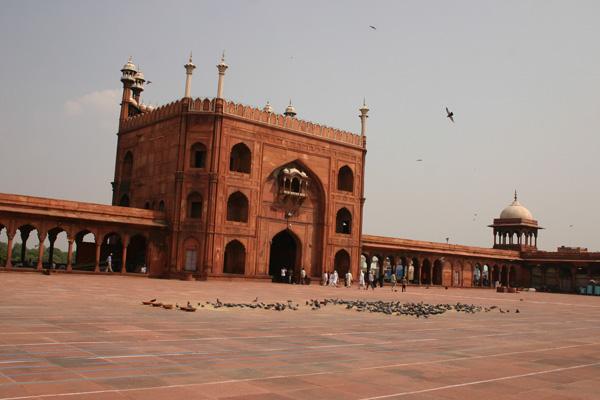 Mosquée Jama Masjid à Delhi
